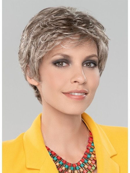 New Arrival Short Wavy Human Hair Wig With Bangs For Women