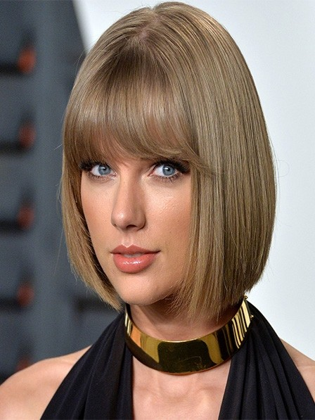 Best Bob Style Lace Front Medium Straight Human Hair Wigs