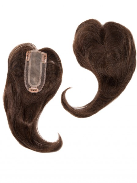 Heywigs Add On Part Human Hair Toppers for Perfect Fit