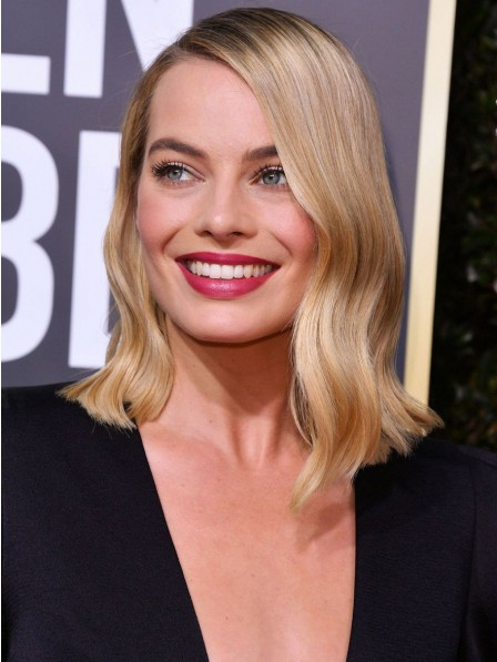 Affordable Blonde Lace Front Wavy Celebrity Wigs