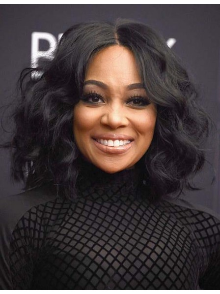 Classic Lace Front Synthetic African American Wigs 2019