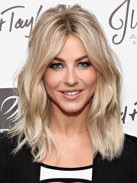 Blonde Remy Human Hair Celebrity Wigs 100% Hand-Tied New Arrival