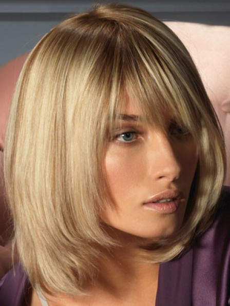 Cheap Women's Lace Front Synthetic Celebrity Wigs
