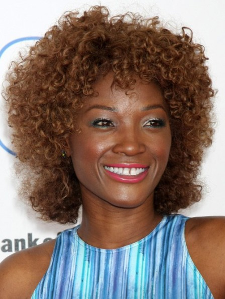 Curly Remy Human Hair African American Wigs For Black Women