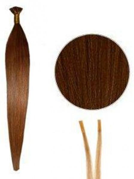 Popular 100% Human Hair Stick/I Tip Hair Extensions