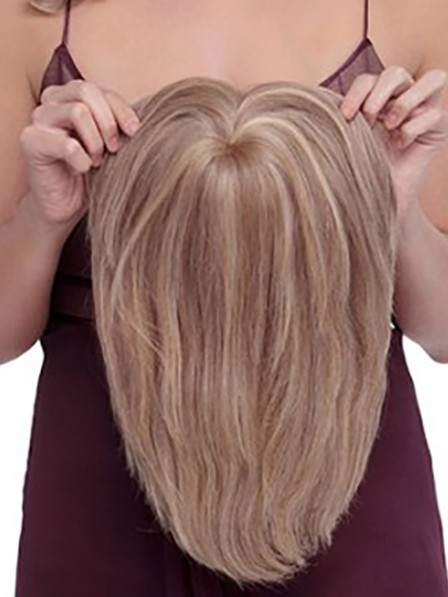 New Heywigs Human Hair Top Piece for Ladies Perfect Fit