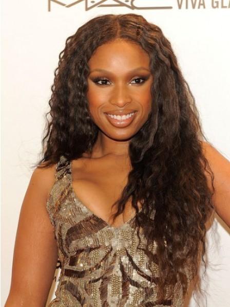 Jennifer Hudson Brown Long Waves Hair Wigs