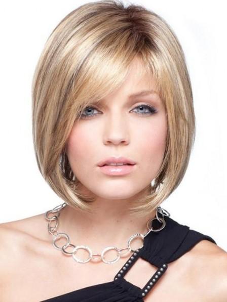 Fabulous Bob Lace Front Straight Women Hair Monofilament Wig
