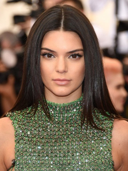 Kendall Jenner Lace Front Synthetic Celebrity Wigs