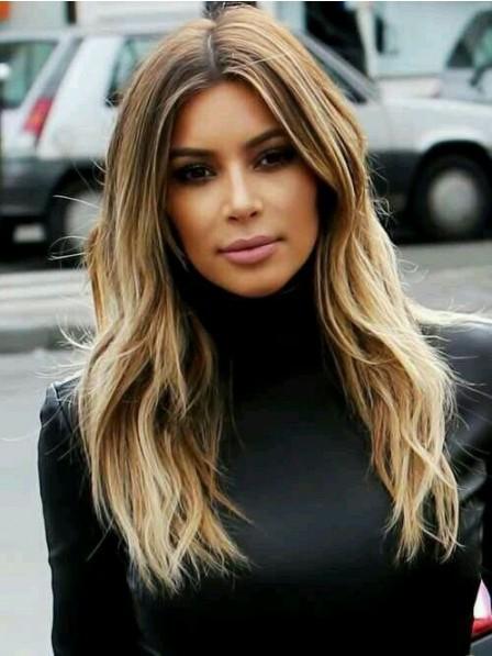 Kim Kardashian Perfect Medium Blonde Lace Front Wig