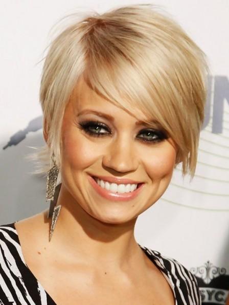 Kimberly Wyatt Short Easy Style Human Hair Celebrity Wig