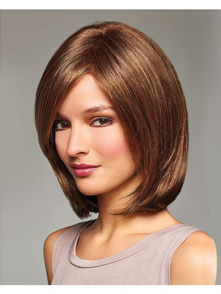 Elegant Lace Front Mono Top Bob Style Wig Best Styles