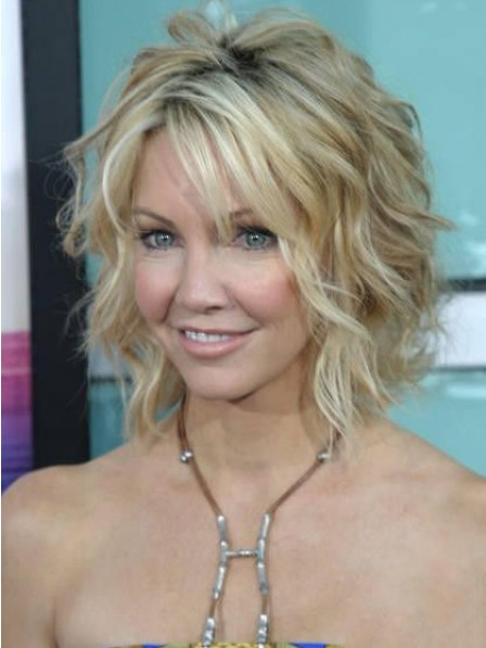 Cute Loose Wave Messy Bob Capless Synthetic Hair Wig