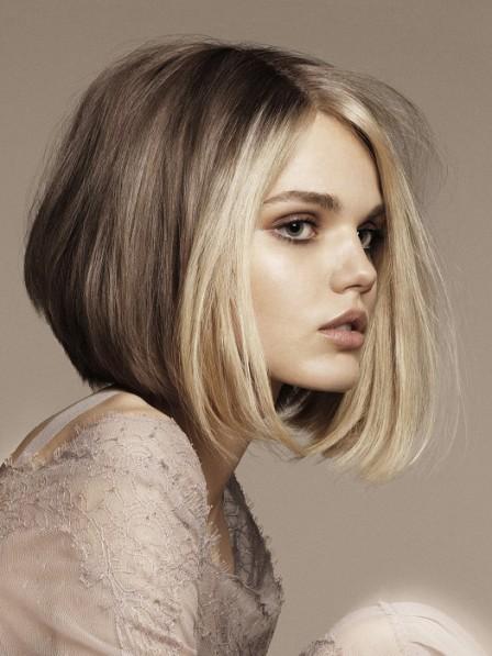 Best Medium Blonde Bob Cut Human Hair Lace Front Wigs