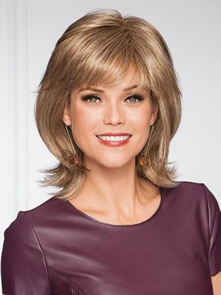 Modern Shoulder Length Laryered Women Wig for Sale