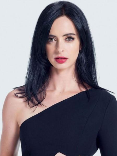Natural Look Capless 100% Human Hair Celebrity Long Wigs