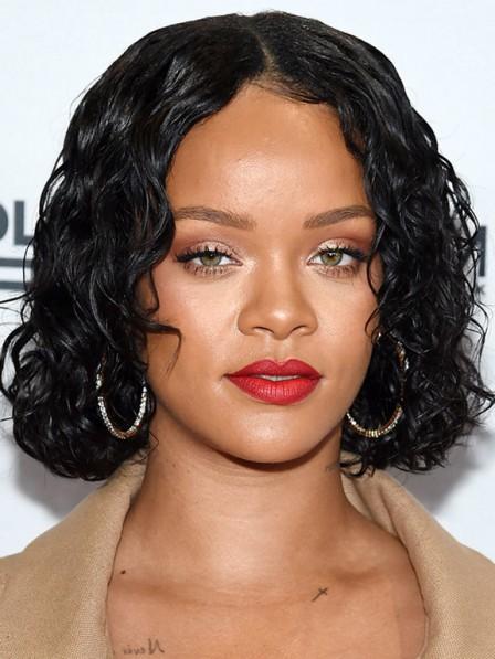 New Arrival Natural Look Medium Length Black African American Wigs
