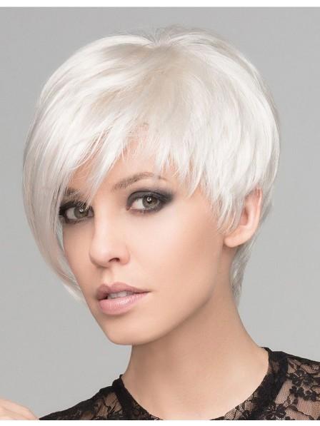 Ladies Short Cut Ladies Grey Cpless Wigs for Sale