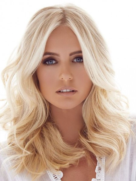 New Arrival Soft Buttery Blonde Lace Front Human Hair Wigs