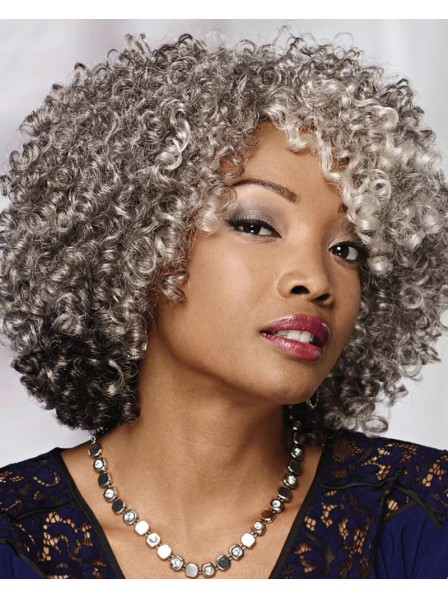 Voluminous Curly Wig With Texture-Rich Layers Of Corkscrew Curls