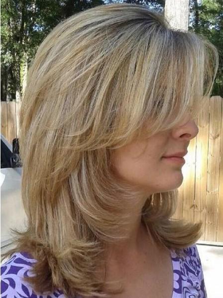 Wavy Capless Wavy Human Hair Celebrity Wigs