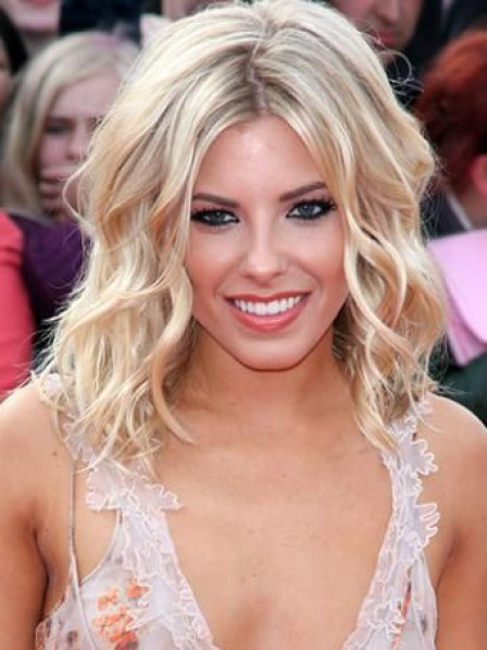 Women S Shoulder Length Curly Human Hair Blonde Wigs Shoulder Length Wigs Capless Wigs Blonde Wigs Heywigs Com