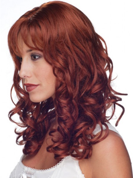 Latest Women's Long Human Hair Lace Front Curly Hair Wig Online Sale