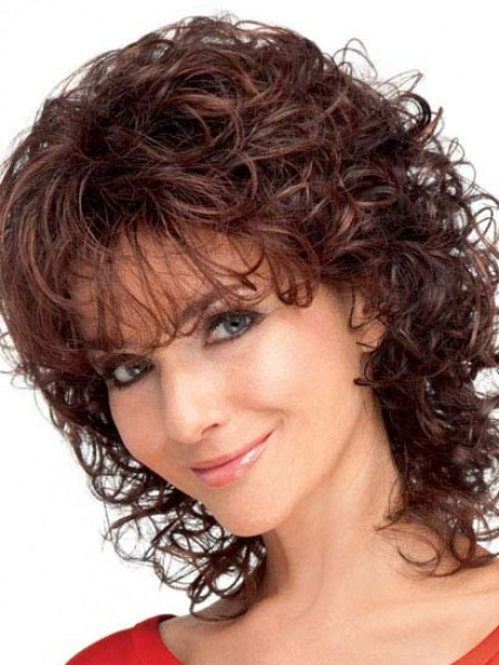 Cheap Ladies Synthetic Wavy Capless Hair Wigs