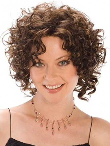Popular Curly Heat Friendly Synthetic Hair Wig