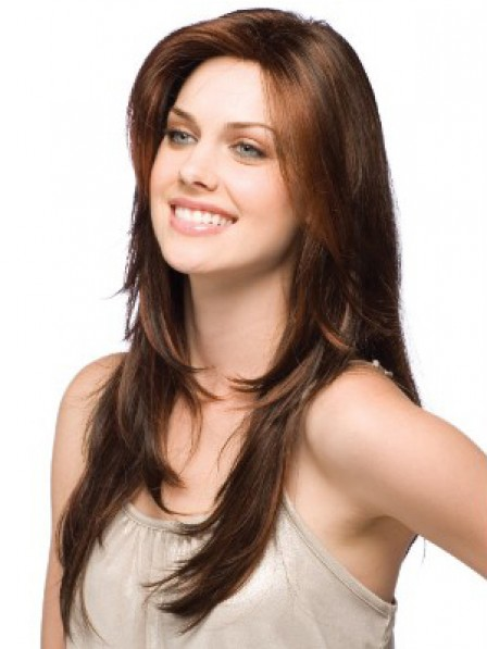 Best Human Hair Lace Front Long Straight Women Hair Wig Near Me