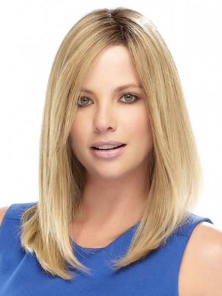 Hot Sale Shoulder Length Straight Lace Front Synthetic Hair Wigs