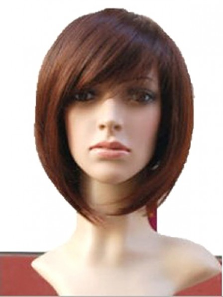 Latest Comfortable Lace Front Straight 100% Human Hair Wig