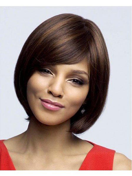 New Design Lace Front Chin Length Straight Bob Chin Length Wigs