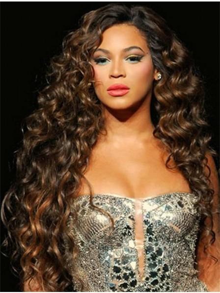 Best Deep Wavy Lace Front Monofilament Long Hair Celebrity Wigs